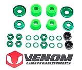 Venom Skateboards Kit de reconstrucción universal de bujes y tuercas para camiones - Cilindro - Soft 80a