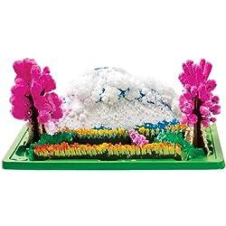 Magischer Kristallgarten