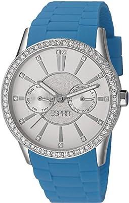 Esprit Double Infusion ES106122001 - Reloj de pulsera para mujer (movimiento de cuarzo, analógico, cuero)