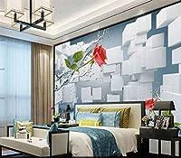 YCRY-壁紙新しい白いブロック3DフルWll Murl写真印刷 -壁の装飾-ポスター画像写真-HD印刷-現代の装飾-壁画-200x140cm