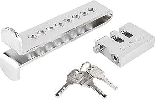 AITOCO Universal Edelstahl 8 Löcher Auto Clutch Lock Auto Bremse Gas Lock Accelerator Pedal Lock diebstahl Auto Liefert