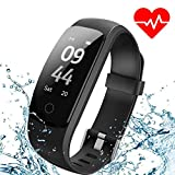 Aneken Fitness Tracker Activity Tracker Smart Band Heart Rate Sleep Monitor Waterproof Smart Bracelet Pedometer Wristband Smart Watches for Android iOS Smart Phones