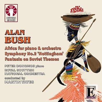 Bush: Africa Piano Concerto & Symphony No. 2