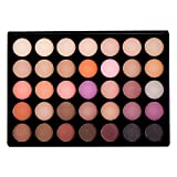 Sienna Blaire Beauty Makeup Eyeshadow Palette (Warm) 35 Color Shades, Matte and Shimmer Highly Pigmented Eye Shadow for Women, Professionals, Vegan, Cruelty-free