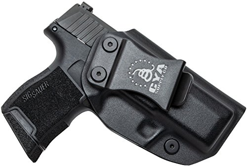 CYA Supply Co. Inside Waistband Holster Concealed Carry IWB Veteran Owned Company (Black, 008-...