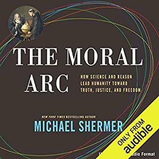 The Moral Arc audiobook cover art