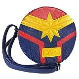 CERDÁ LIFE'S LITTLE MOMENTS Bolso Bandolera Captain Marvel, Unisex Adulto, Azul (Azul), 5x18x18 cm...
