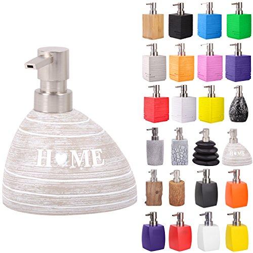 Sanilo Seifenspender | viele schöne Seifenspender zur Auswahl | Elegantes, stylisches Design | Blickfang für jedes Badezimmer (Home)