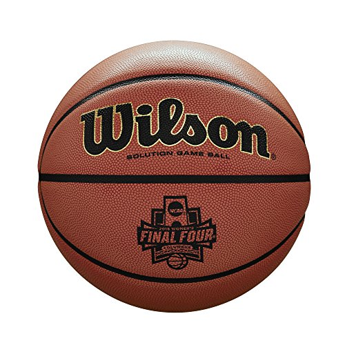Best Deals! Wilson Sporting Goods NCAA Women's Final Four Championship Game Ball, Orange Microfiber