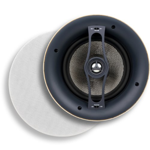 Lowest Prices! Micca Reference Series R-8C 8-Inch Rimless in-Ceiling Speaker (Each, White)