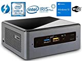 Intel NUC NUC8i5BEH Mini PC/HTPC, Intel Quad-Core i5-8259U Upto 3.8GHz, 16GB DDR4, 256GB SSD, WiFi, Bluetooth, Thunderbolt 3, 4k Support, Dual Monitor Capable, Windows 10 Pro (16GB Ram + 256GB SSD)