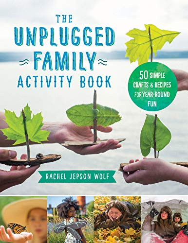 The Unplugged Family Activity Book: 60+ Simple Crafts and Recipes for Year-Round Fun
