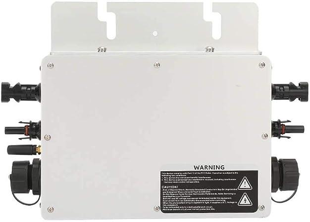 V 180-260 V Jadpes Mikro-Wechselrichter Gitterbindung Micro-Wechselrichter /Überwachung der Solarleistung f/ür Solar 80-160 V 90-140 V wasserdichte Solarwechselrichterleistung