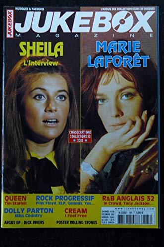 JUKEBOX 185 * 2002 * SHEILA MARIE LAFORET QUEEN CREAM DOLLY PARTON