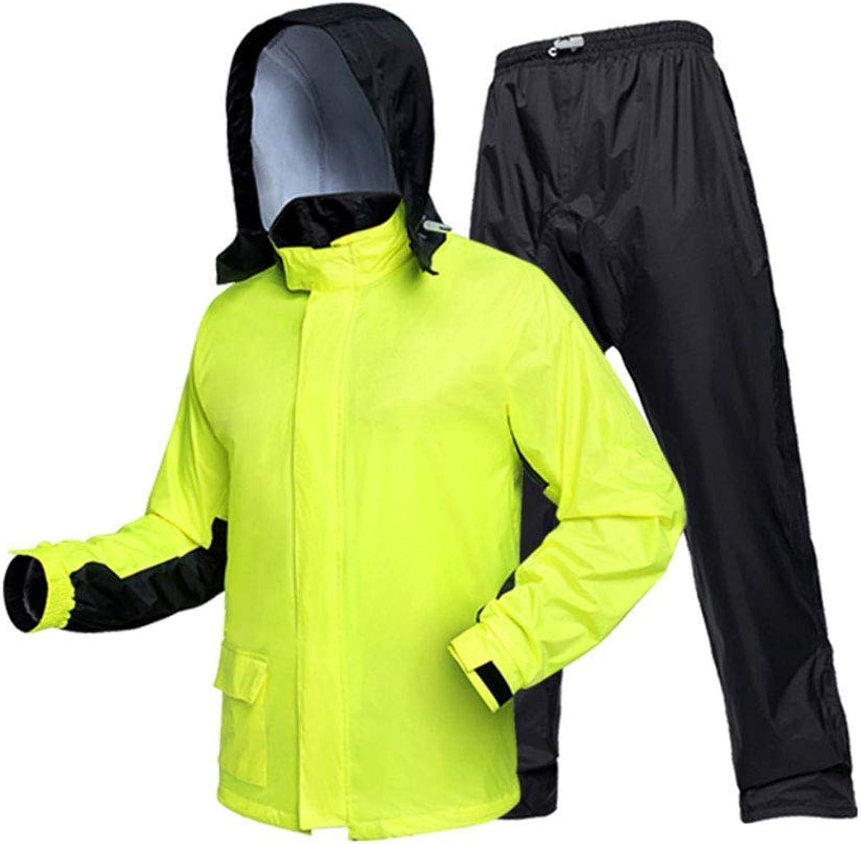 Geyao Outdoor Regenmantel Wandern Mnner Erwachsene Motorrad Reiten Split Anzug Weibliche Mode Ganzkrper Elektrische Wasserdichte Kleidung