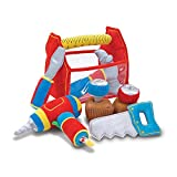 Product Image of the Melissa & Doug Toolbox Fill and Spill Toddler Toy With Vibrating Drill (9 pcs)