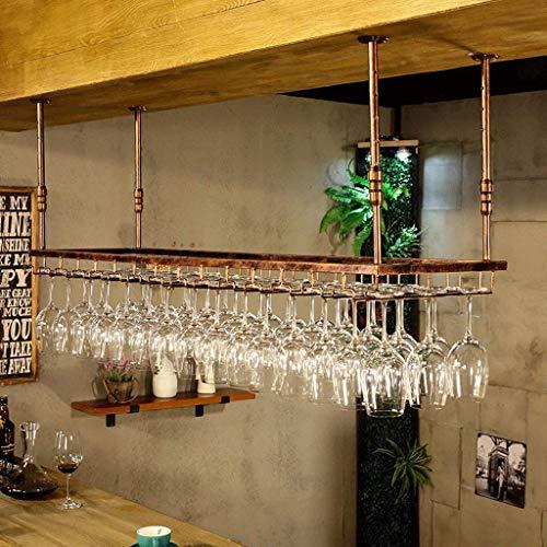 BGHDIDDDDD Novedad Estante para Vino Estantes para Vino Estante para Organizador de Vino Estante para Copas de Vino Colgador para Colgar Estante para Vino Soporte para Copas de Alenamiento de Hierro