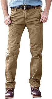 cc754f7adf3439 LandFox-Pantaloni Cargo Pantaloni casual da uomo Slim Fit perfetti per  sportivi larghi casuali Pantaloni
