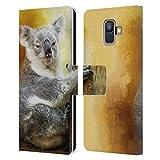 Head Case Designs sous Licence Officielle Simone Gatterwe Koala Animaux Coque en Cuir à...