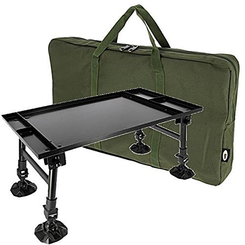 New Giant Dynamic Session Bivvy Bait Tackle Table Adjustable Legs Carp Fishing