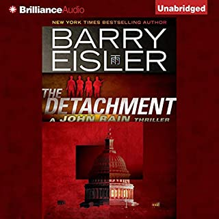 The Detachment                   By:                                                                                                                                 Barry Eisler                               Narrated by:                                                                                                                                 Barry Eisler                      Length: 10 hrs and 8 mins     1,835 ratings     Overall 4.3