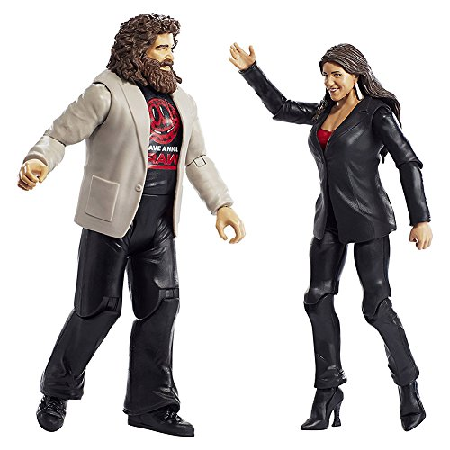 WWE Stephanie Mcmahon & Mick Foley 2-Pack
