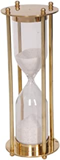 Classical 5 Minute Sand Timer Decor in Brass