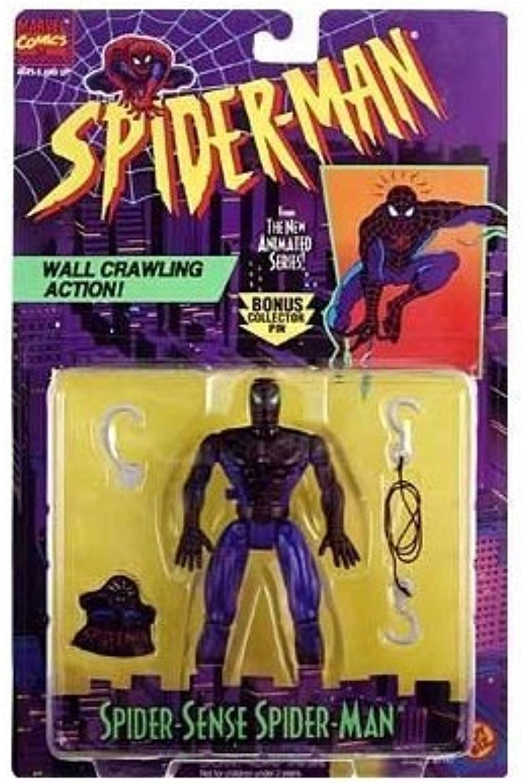 venta al por mayor barato Spider-Man  The Animated Series Spider Sense Spider-Man Acción Acción Acción Figura by Juguete Biz  punto de venta