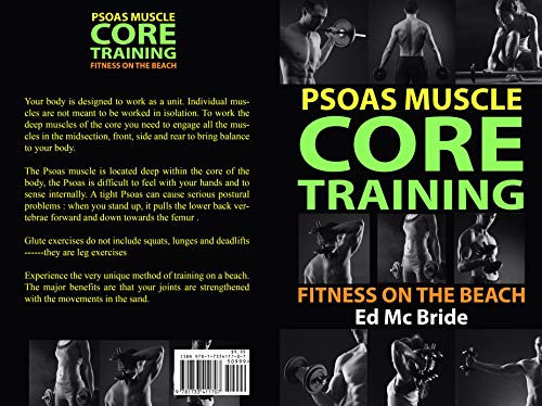 Psoas Muscle, Core training, Fitness on the beach (English Edition)