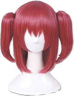 SUNXXCOS LoveLive ! Sunshine ! Aqours Full Hair Female Woman Party Cosplay Wig (Kurosawa Ruby) Brown