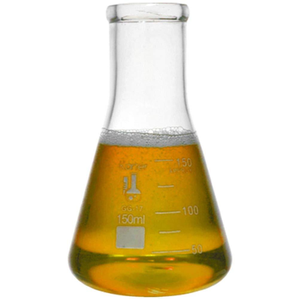 150ml Large-scale sale Narrow Mouth Erlenmeyer Flask Borosilicate Kar 100% quality warranty Glass 3.3