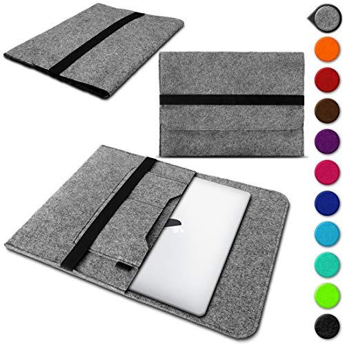 UC-Express Laptop Schutzhülle aus strapazierfähigem Filz mit praktischen Innentaschen Sleeve Hülle Tasche Cover Notebook Hülle Tasche, Farbe:Mint, Notebook:Lenovo E31-70