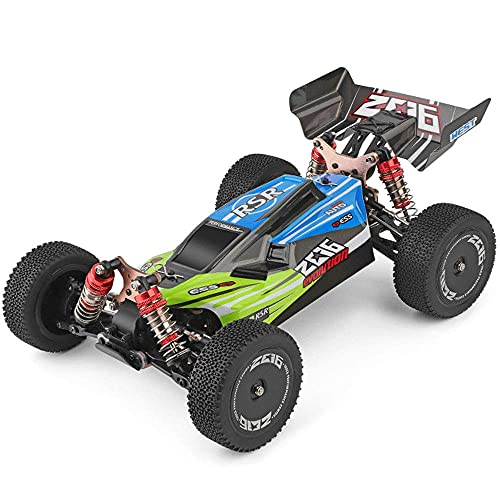 N&G Daily Equipment 60km/h Fast Rally Car 1/18 Model Remote Control Car 4WD Off-Road RC Vehicle Bigfoot Monster Climbing RC Truck 2.4G Charging RC Car Children's Toy Gift