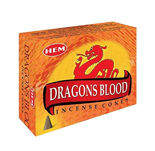 Dragon's Blood - Case of 12 Boxes, 10 Cones Each - HEM Incense From...