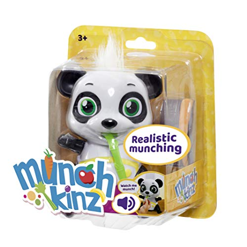 Munchkinz Interactive pet Panda with 30+ Sounds and Movement, Multi-Colour