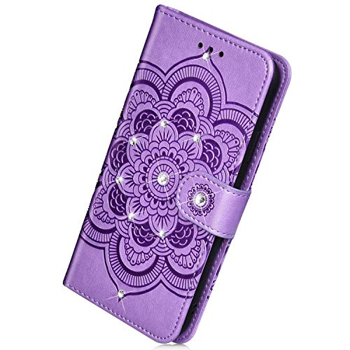 Why Should You Buy Herbests Compatible with Samsung Galaxy A6 Plus 2018 Wallet Case Luxury Bling Dia...