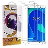 guran 4 pezzi pellicola protettiva in vetro temperato per wiko y80 smartphone 9h durezza anti-impronte hd alta trasparenza pellicola