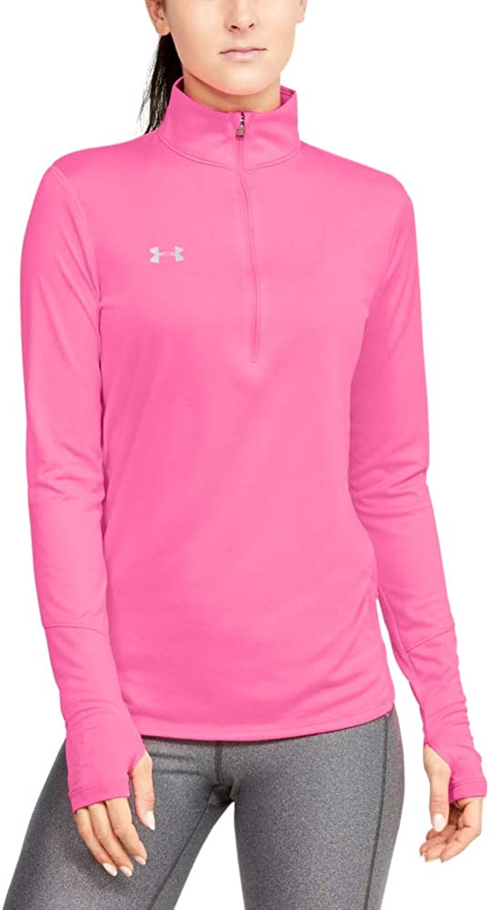 Fees free Under Armour 2021 spring and summer new Women's Locker 2 T-Shirt 1 Zip