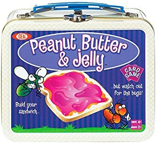 Ideal Peanut Butter and Jelly Card Game by Ideal