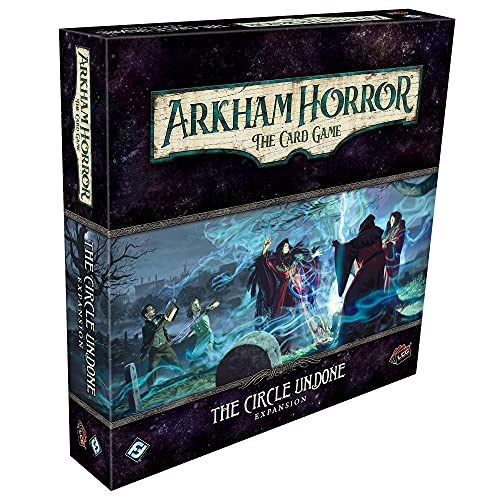 Arkham Horror The Card Game The Circle Undone Deluxe EXPANSION   Horror Game   Mystery Game  ...