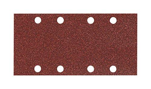 MAKITA P-35900 P-35900-Pack 10 lijas Perforadas con Velcro 93x185 mm para BO3700-9036-BO3711 Grano 150, 0 V, Negro