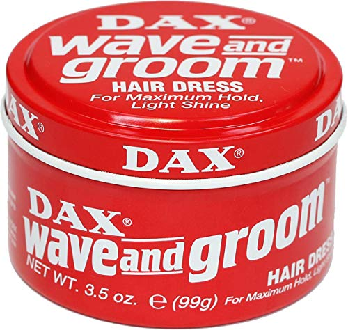 DAX Wave & Groom Hair Dress 3.5oz RED
