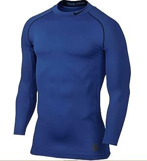 6e23d8e07eb7 Nike Pro Combat Hyperwarm Compression Dri-FIT Max Mock Long Sleeve Shirt  (Medium)