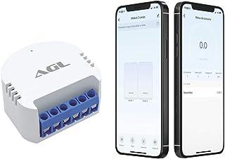 Automatizador de lâmpadas wifi 02 canais, compatível com Alexa, Google e Siri, AGL, Branco