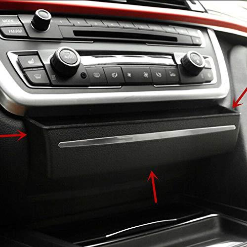 gfyee Auto Aufbewahrungsbox, Aufbewahrungskiste Mittelkonsole CD Panel Ersatz Veranstalter Armlehne Box, Console Armlehne Box angepasst für BMW F30 3er GT F34 2013-2017 - Konsole Organizer Box