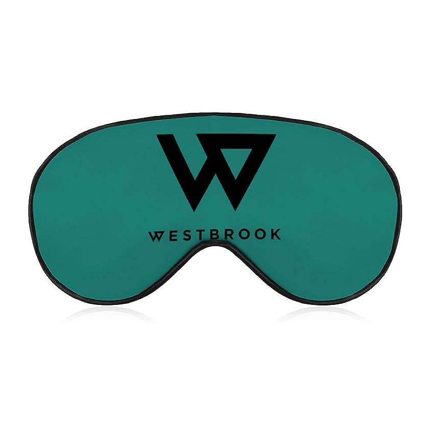 突進電話偶然のラッセル ウェストブルック 女性男性ファッションライトブロックスリープアイマスク、柔らかく快適な目隠しアイカバー旅行/瞑想/シフト作業