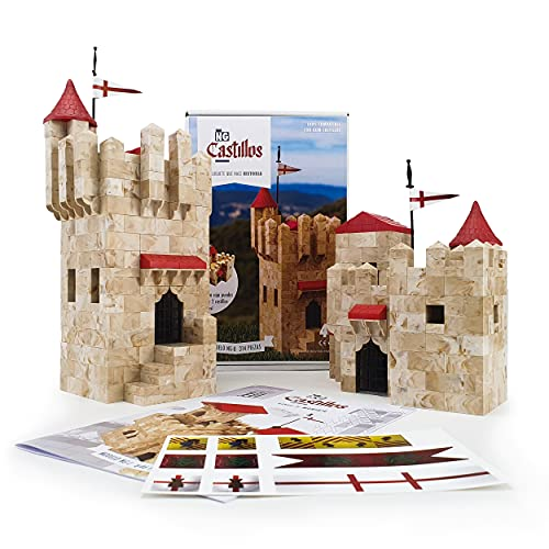 NG Castillos | Castillo Maqueta NG0 | Construcción | Set Castillos | Juego Español | Exin Castillos | Castillos Medievales | Castillos Piezas | Castillos para Adultos | Niños | Castillos 3D