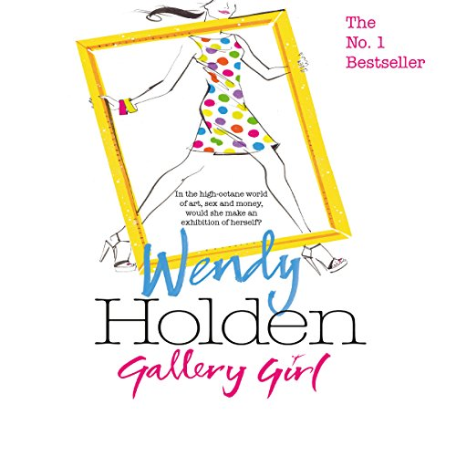 Gallery Girl audiobook cover art