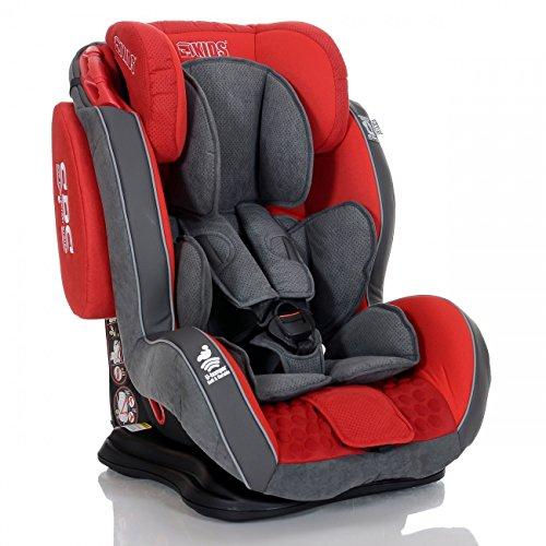 LCP Kids GT Auto Kindersitz 9-36 kg Liegefunktion SPS Seitenschutz System Rot