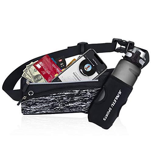 mefound Sport Hüfttasche für Trinkflasche, Gürteltasche Hüfttasche Bauchtasche für 7